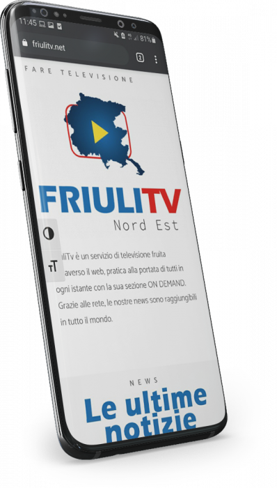galaxy phone friuli tv